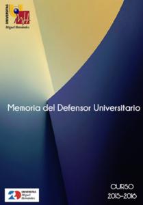 Logo Memoria Defensor UMH